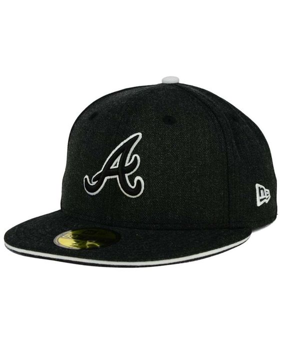 New Era Atlanta Braves Heather Action 59FIFTY Cap