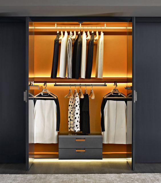Wardrobe BACKSTAGE Collection B&B Italia Design
