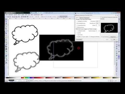 Inkscape Tutorial Eine Bitmap Datei Vektorisieren Youtube Vektorisieren Nachzeichnen Grafiken