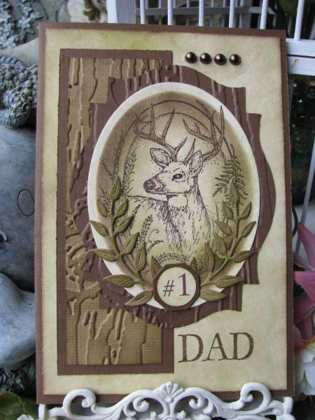 Deer Dad by Jakester - Cards and Paper Crafts at Splitcoaststampers: