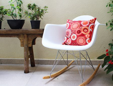 Almofada Jardim de Outono - Casa de Criação A Vó Queria...