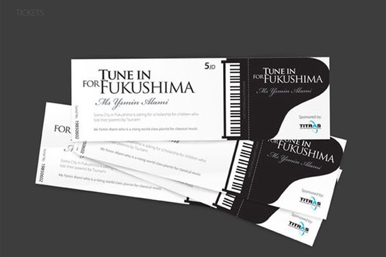 A collection of well-designed event tickets Event ticket and - how to design a ticket for an event