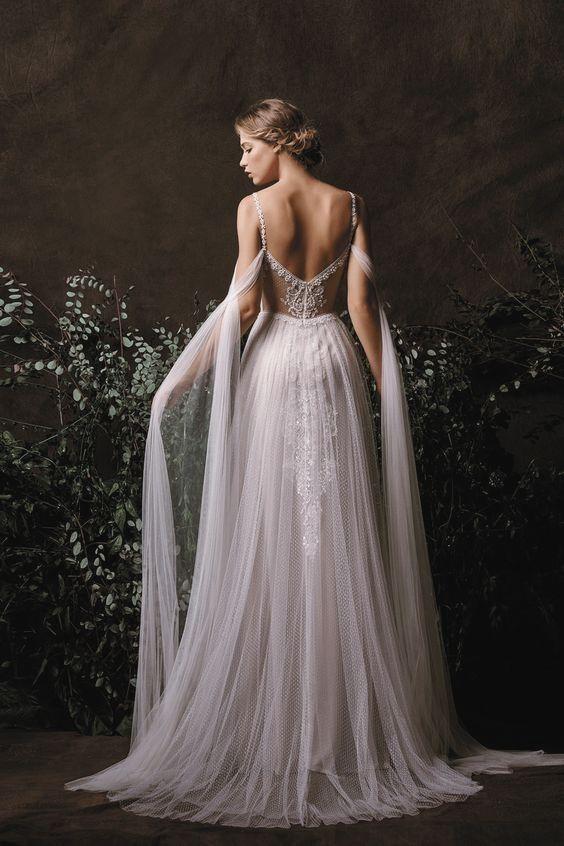 Neue Romantische Brautkleider Brautkleider Romantische Kleider Hochzeit Hochzeitskleid Elfe Hochzeitskleid