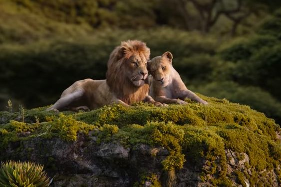 The New ''Lion King'' Trailer Gives Us A Glimpse Of Beyoncé Singing And Ghost Mufasa