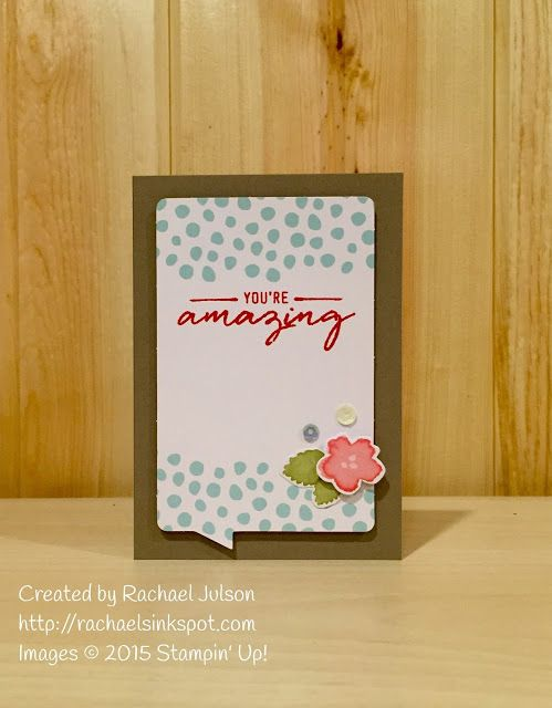 Rachael's Ink Spot - Watercolor Wishes card kit from Stampin' Up! Shop online at http://rachaelsinkspot.com