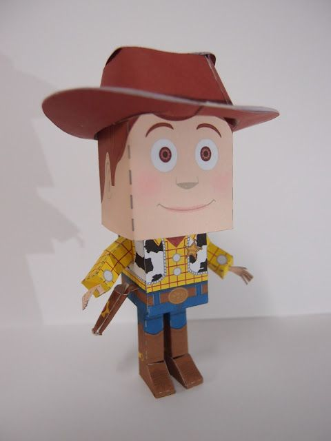 Boxes-Header Workshop: Sheriff Woody The Cowboy~