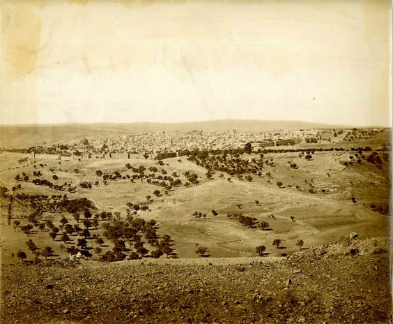 Image detail for -Jerusalem from the North East circa 1865 - Gilai Collectibles
