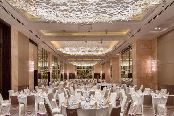 Sheraton Jakarta Gandaria City Hotel - Ballroom - Rendering |  ceiling_UP   | Pinterest | Ballrooms, Jakarta and City