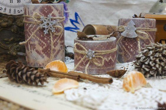 Подсвечники Тёплая Зима – купить в интернет-магазине на Ярмарке Мастеров с доставкой - EENCZRU | Сочи