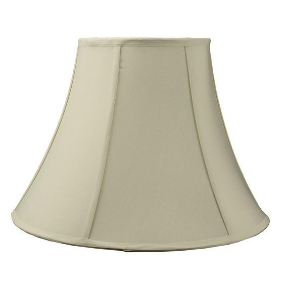 "18"" Modern Classics Fabric Bell Lamp Shade"