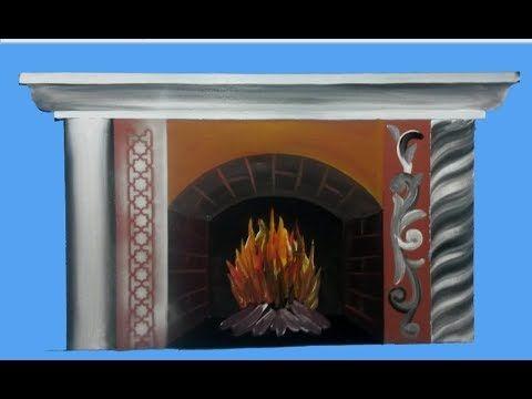 طريقة رسم دفاية Decor Home Decor Fireplace