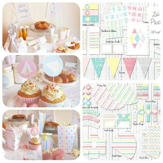 Printable Party Kit - Nordic Style - Idee festa compleanno