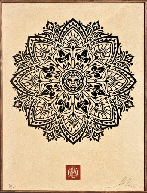 Shepard Fairey Art for Tibet