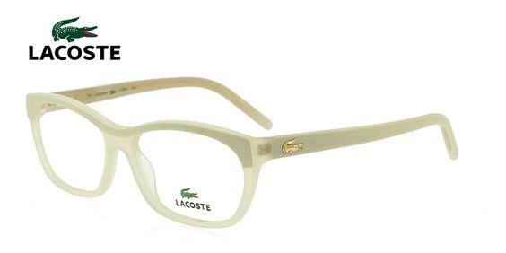 Lacoste L2639 Cream Prescription Eyeglasses From $185