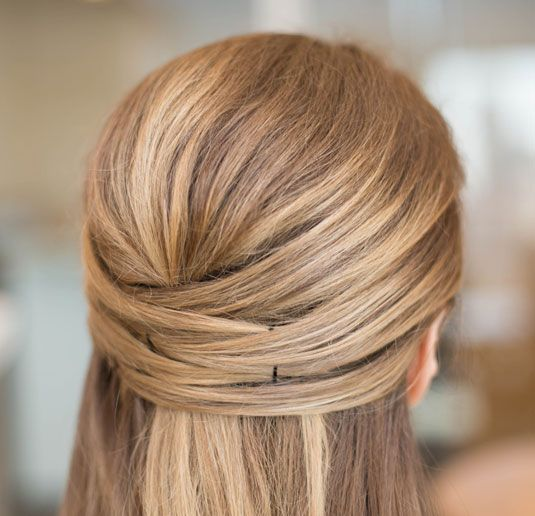 Astonishing Good Housekeeping Updo And Bobby Pins On Pinterest Hairstyles For Women Draintrainus