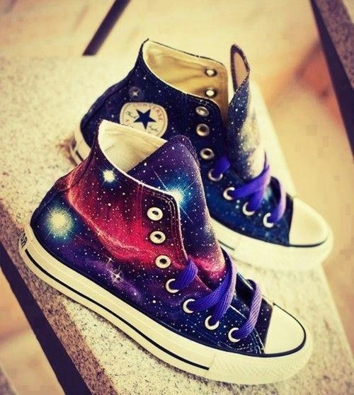 All Star galaxy shoe: OMG...I'm obsessed w/all Galaxy things right now!!!