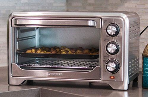 Chefman Countertop Convection Stainless Steel Toaster Oven