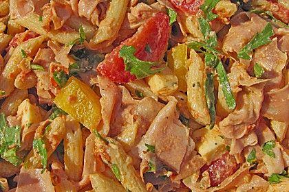 Sommerlicher Nudelsalat mit Tomaten und Pesto (Rezept mit Bild) | Chefkoch.de