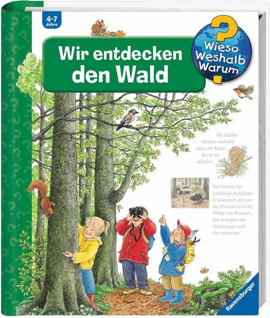 Buch Wir Entdecken Den Wald Wieso Weshalb Warum Kinderbucher Bucher Und Wald