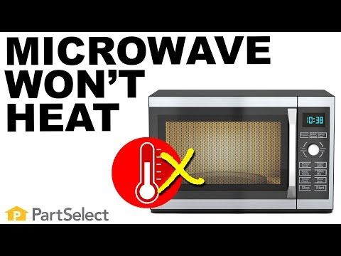 Microwave Turns On But Doesn T Heat