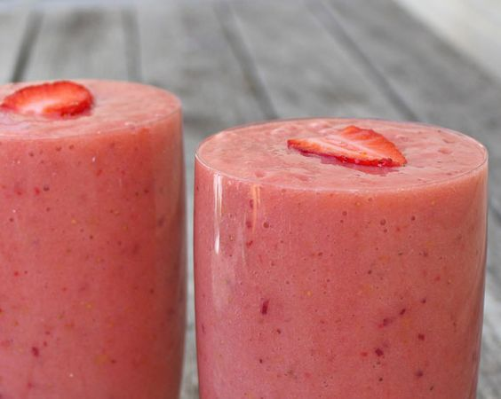 Smoothie, Peaches and Bananas on Pinterest