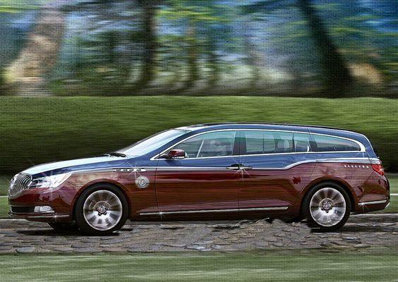 Buick Electra Estate Wagon Concept 2020 Buick Otomobil Arabalar