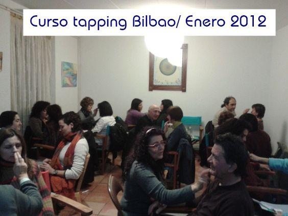 #Foto ¡A poner en práctico lo aprendido en el curso! Curso tapping Bilbao/ Enero 2012