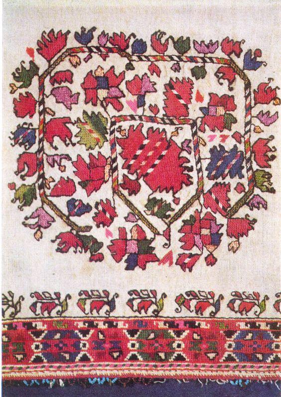 Традиционен български модел на бродерия.