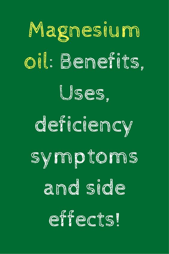 Magnesium oil can be used for a lot of things when it comes to your wellness…