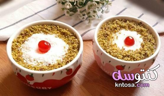 العاشورا الكريمى باسهل واحلى طريقة العاشورا الكريمي و لذيذه بطريقتي Kntosa Com 02 20 159 Food Desserts Oatmeal