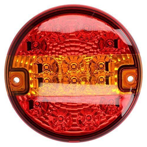 Runde Led Lkw Rucklicht Lampe Fur Anhanger Wohnwagens 12v Oder 24v Led Truck Licht Rund 12v Oder 24v Betrieb Inklusive Mouting Bolzen Bietet Rucklicht Brem