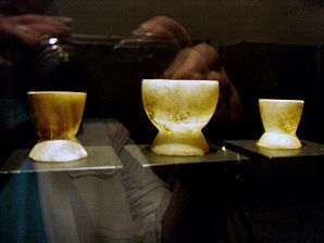 Carved Stone Cups. Monte Alban mexico Native american  history