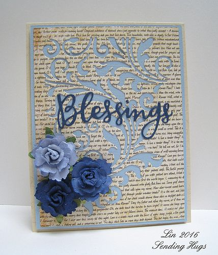 Blue Flourish | Please visit my blog for details. | quilterlin | Flickr