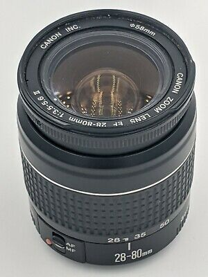 Canon Ef 28 80mm F 3 5 5 6 Ii Lens Https Ift Tt 3cghayc In 2020 Camera Lenses Camera Lenses