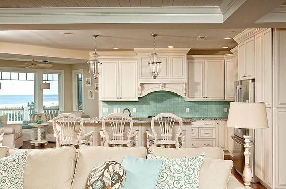 Relaxing Retreat Custom Designed Kitchen Fenwick Island