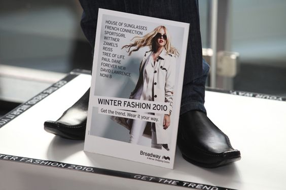 Broadway Winter Fashion Campaign by Cindy Forster, via Behance