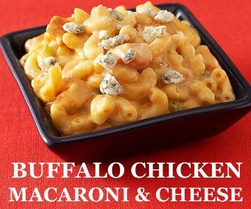 Buffalo Chicken Macaroni & Cheese