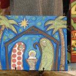 Beautiful Nativity Painting