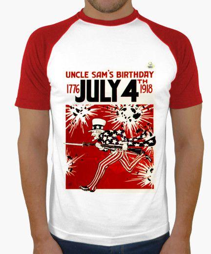 Camiseta Uncle Sam A Camiseta hombre, estilo béisbol  19,90 € - ¡Envío gratis a partir de 3 artículos!