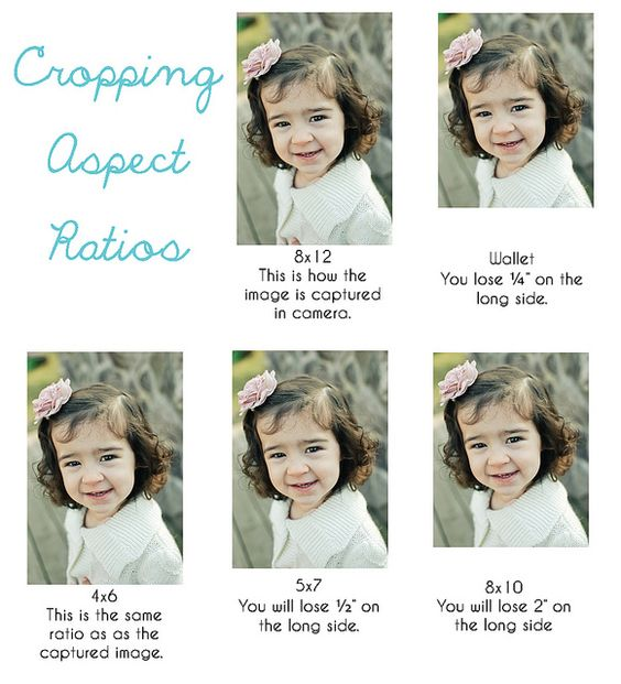Cropping Do's and Don'ts.