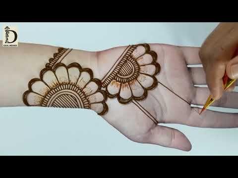 Explore and share your favorite simple mehndi. Beautiful Easy Mehndi Arabic Mehndi Design Stylish And Easy Mehndi D Desain Henna Sederhana Desain Tato Henna Desain Henna