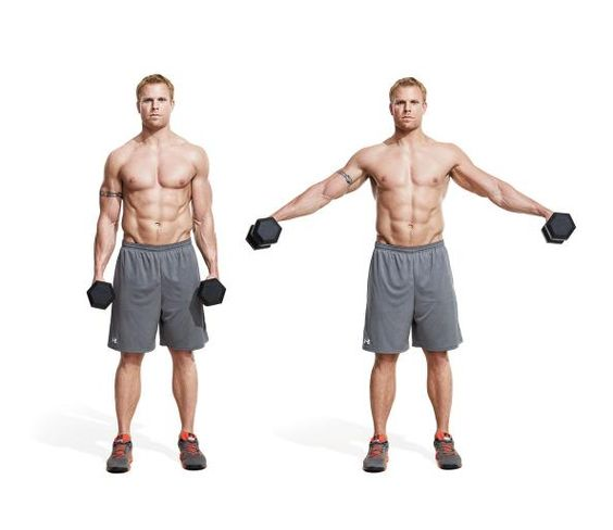 Shoulder Exercises, Men's Fitness And Exercise On Pinterest