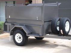 Off road trailer.