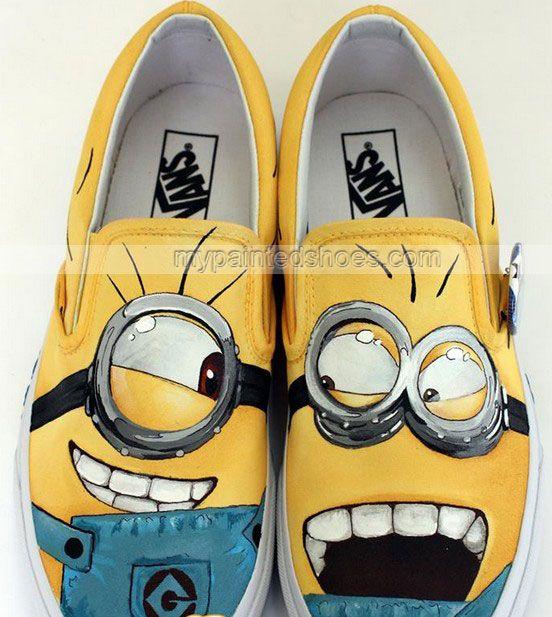 VANS $57 shoes available on mypaintedshoes.com
