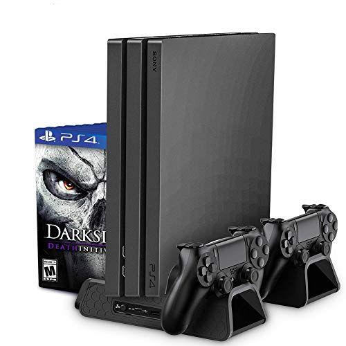 Support Vertical pour PS4/Slim Console Noir