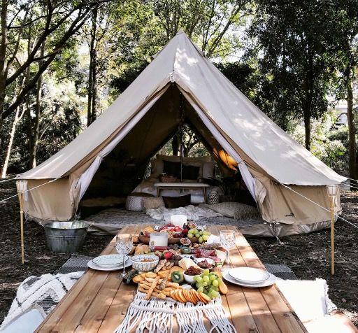 5m Diameter Double Door Bell Tent Breathe Bell Tents Australia Bell Tent Bell Tent Camping 5m Bell Tent