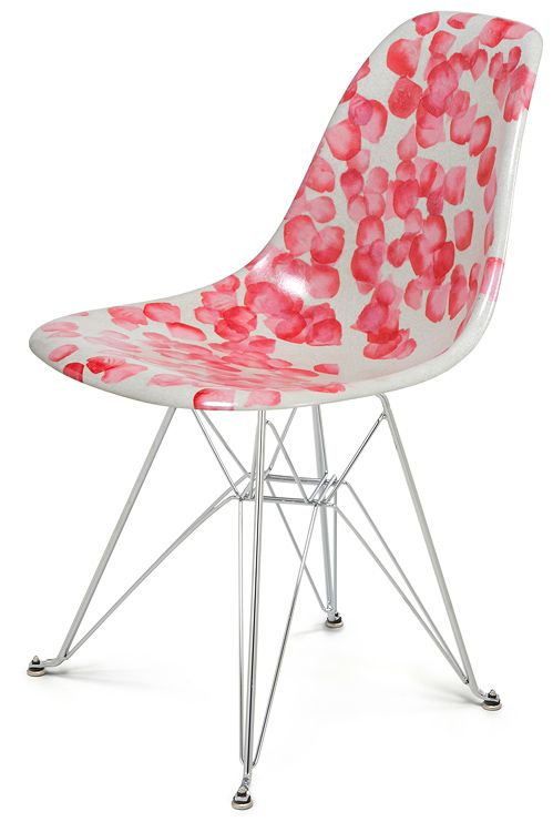 Modernica Fiberglass Shell Chair In American Beauty Limited Edition Funho