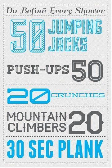 Workout Routine!