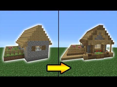 Minecraft Tutorial: How to Transform a Village Butcher Shop YouTube #DiyGamer Minecraft designs Minecraft crafts Minecraft tutorial