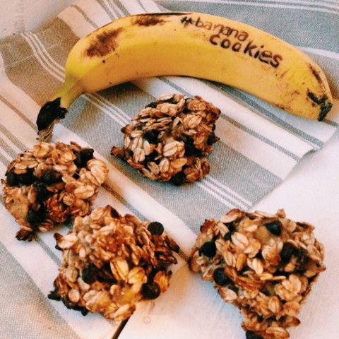 diet banana cookies  / biscotti dietetici di banana